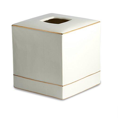 Kassatex Tissue Holder, St. Honore Bath Accessories | Porcelain
