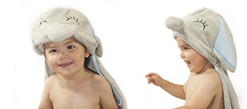 Luxury Hooded Baby Towel and Washcloth Set   Extra Soft 100%