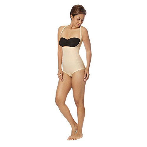 Marena Recovery SFBHA2 Panty-Length Girdle w/High-Back-Step 2-XL-BGE by Marena Recovery