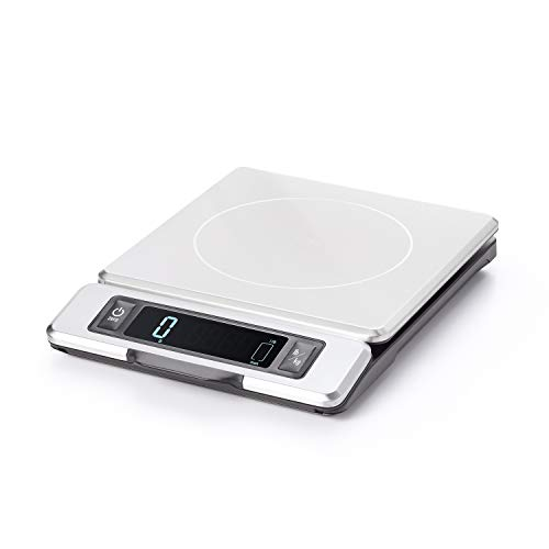 OXO Good Grips 11 Pound Stainless Steel Food Scale with Pull-Out Display