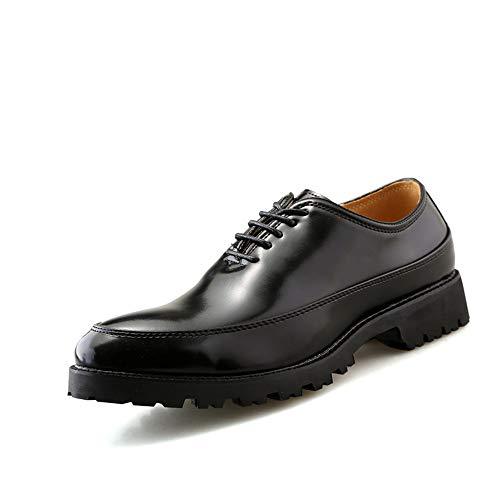 contrasto lavoro verniciata shoes Xiaojuan retr con in colore Scarpe a pelle motivo di da gFxwAqv