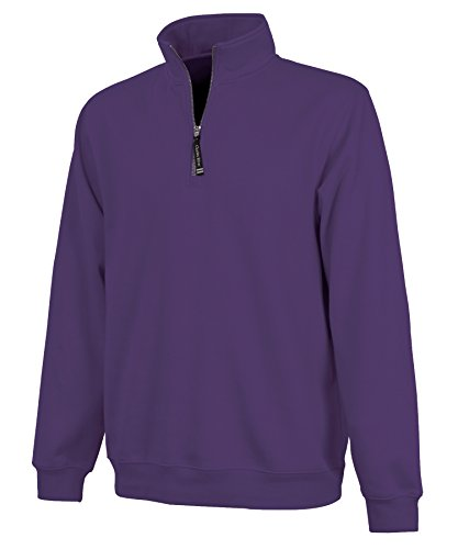Ultra Soft and Cozy Women's Crosswind Pullover Sweatshirt - Purple, Small (Purple Women Sweatshirt)
