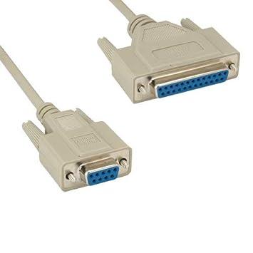 Amazon.com: Kentek - Cable para impresora de módem hembra de ...