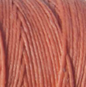 Linen Jewelry Cord Irish Waxed Linen Thread Salmon 43688 4-Ply Waxed Linen 50gr, 100yds Crawford Irish Waxed Linen Cording