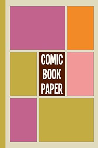Comic Book Paper: 6 x 9