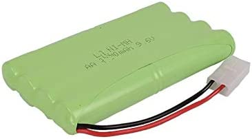 H Model Ni-MH 9.6V 3000mAh USB Batterie Color : Light Yellow Chargeur for Jouets RC Car r/éservoir Train Robot canonni/ère AA 9.6V Batterie Rechargeable IENPAJNEPQN