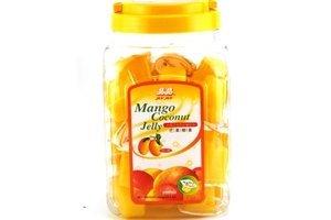 Coconut Mango Dessert (Coconut Jelly Dessert (Mango Flavor) - 52.91oz (Pack of 1) by Jin Jin)