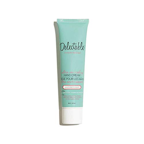 Delectable Sweet - Delectable By Cake Beauty Ultra Nourishing Hand Cream, Sweet Mint Cream, 2 oz.