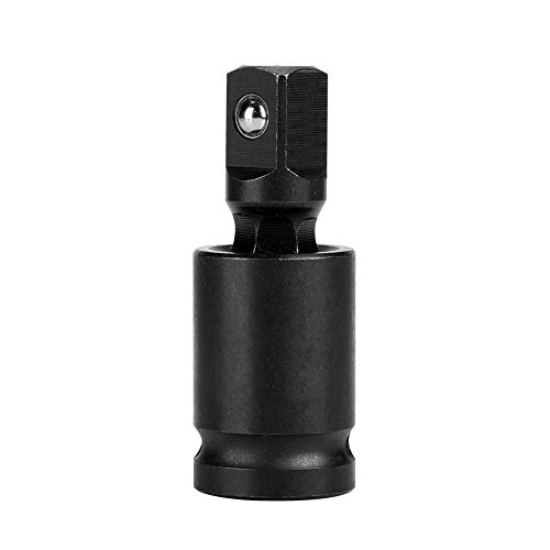 Universal Joint, Drive Universal Joint Swivel Adapter Air Impact Wobble Socket(1/2'')