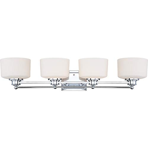Nuvo Lighting 60/4584 Four Light Vanity, Chrome ()