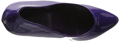 Púrpura de Ellie Shoes Prince Bomba 652 wwqFZB47n