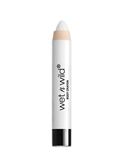 Wet N Wild Halloween 2017 Fantasy Makers Body Crayon White #12937, 0.14 Oz