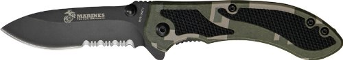 """US Marine Corps Grunt Assisted Opening Knife – """"The Few, The Proud"""" USMC Collection, Outdoor Stuffs"""