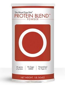 D'Adamo Personalized Nutrition Protein Blend Powder Right 4 Your Type O -- 1 lb by D'Adamo