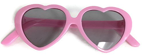 Dori's Doll Boutique Pink Heart Sunglasses made for 18 inch American Girl Dolls