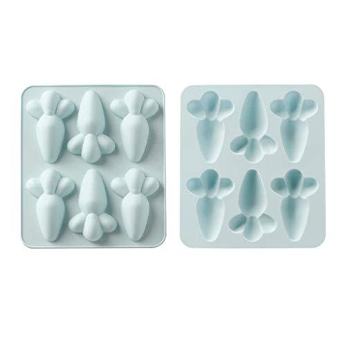 Abcidubxc – Molde de silicona para repostería (6 cavidades)