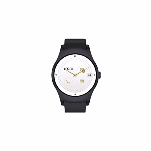 Wear24 4G LTE Verizon Smartwatch with Bluetooth (Gunmetal Black) by Quanta