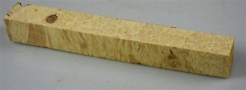 Box Elder Burl - Box Elder Burl Stabilized Clear 1 pc Pen Blank 3/4