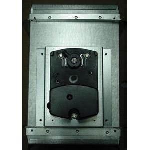 8X10 RECTANGLE MOTORIZED ZONE DAMPER DAMPRECO8X10-A