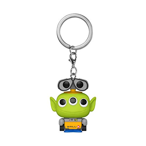 Funko-Pop Keychain Pixar-Alien as Wall Anniversary Figura Coleccionable, Multicolor (48357)