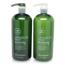 Paul Mitchell Tea Tree Lavender Mint Moisturizing Shampoo 1 Liter/33.8oz and Conditioner 1 Liter/33.8oz - Lavender Mint