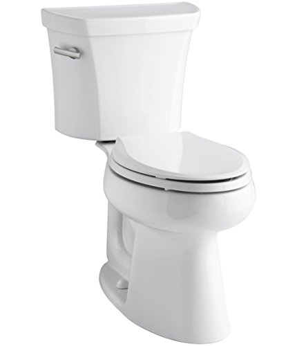 Piece Chair Height Elongated Toilet - 2