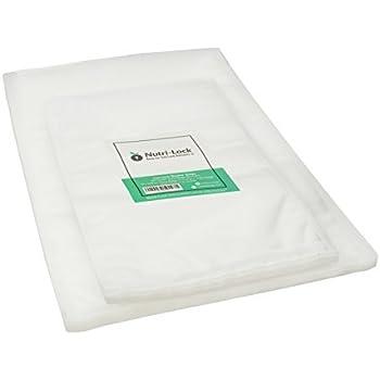 Amazon.com: Nutri-Lock Vacuum Sealer Bags. 100 Quart Bags ...