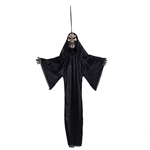 UOKNICE Halloween Prop Hanging Grim Reaper Scary Decoration Outdoor Decor ()