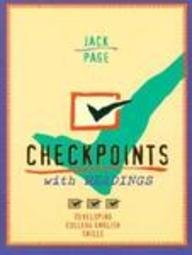 Checkpoints With Readings: Developing College English Skills