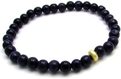 Rose Quartz Matte Hematite and Black Lava Stone Stackable Stretch Boho Beaded Bracelet