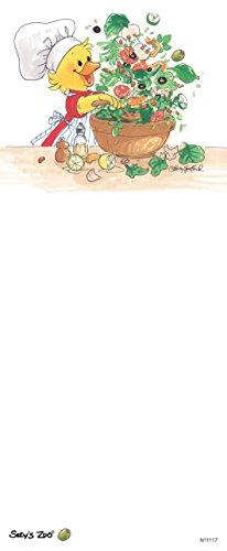 """Suzy's Zoo Memo Note Pad, """"Suzy's Salad"""" 11117"""
