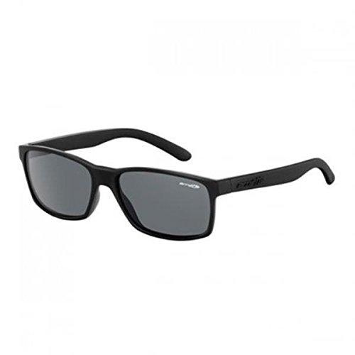 Noir Slickster Sonnenbrille an4185 Arnette Caoutchouc ZwzpqZI