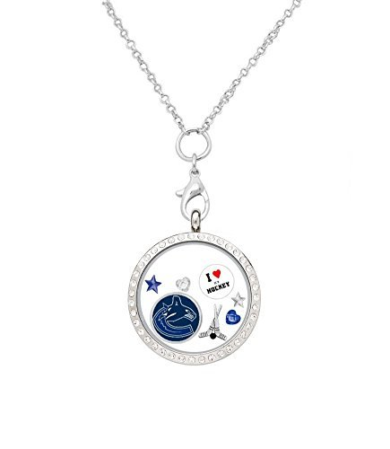 (Final Touch Gifts Vancouver Canucks Floating Locket on a 32