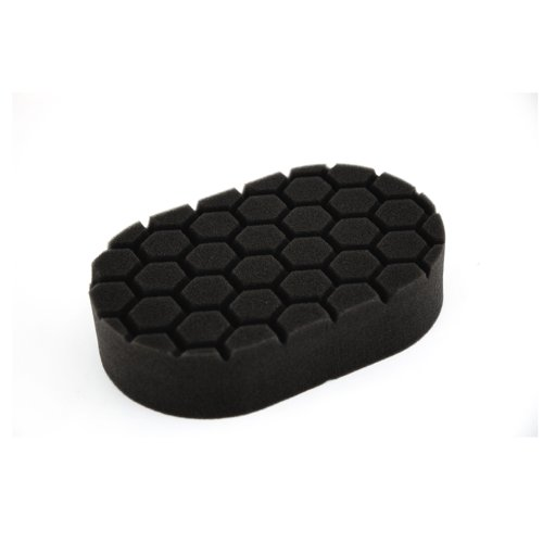 Hand Finishing (Chemical Guys BUFX_203 Hex-Logic Finishing Hand Applicator Pad, Black (3 in. x 6 in. x 1 in.))