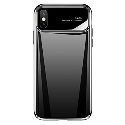 best service 9e9d4 7890f iPhone X Case and Covers, BIGZOOK Luxury Lens Case Back Case Cover for  Apple iPhone X [iPhone 10] (Royal Black)