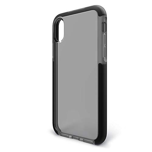 BodyGuardz Ace Pro Case for iPhone Xr Extreme Impact and Scratch Protection, Smoke/Black