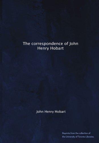 The correspondence of John Henry - Toronto Hobart