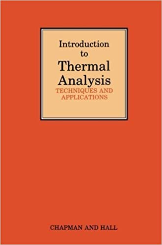 Book Introduction to Thermal Analysis: Techniques and applications by Michael Ewart Brown (2011-10-01)