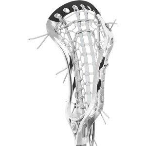 Brine Dynasty Elite Strung Lacrosse Head, White/Black