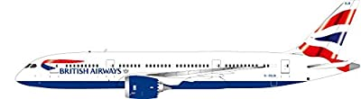 IF7870613B InFlight 200 British Airways Boeing 787-8 Dreamliner G-ZBJB Model Airplane