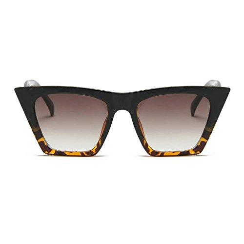 Lunettes de Soleil Ansenesna Mode Cat Eye lunettes de soleil Femmes Retro  Transparent Frame marque lunettes ... c1268514d733