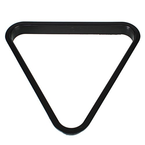 Rack Triangle 8 Ball Pool Billiards Table PC Standard Size Black Accessories New (Outdoor Furniture Settings Brisbane)