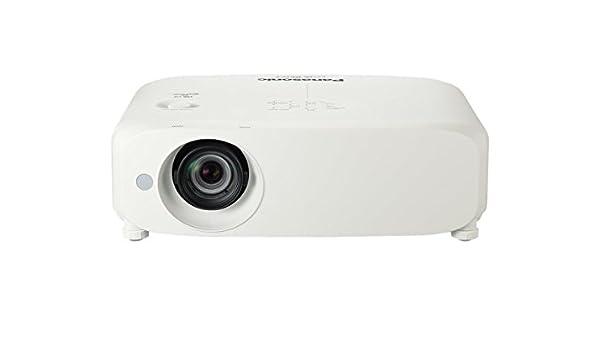 Panasonic PT-VZ580U Video - Proyector (5000 lúmenes ANSI, 3LCD ...