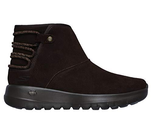 Cuero Custom Zapatos Mujer De Botas On 15502 Skechers Go Joy The nxvOqz