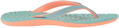 Rider Mujeres Smoothie Iv Flip-flop Naranja / Verde