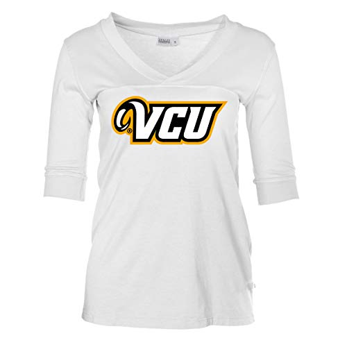(Official NCAA VCU Virginia Commonwealth Rams - Women's Fitted Football Jersey)