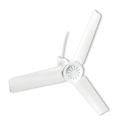 firnfose 15w Power Ceiling Fan,AC220-240V 50-60Hz, Electric Fan Portable Fan 700mm/27.5