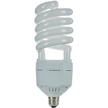 Sunlite SL65/65K/MED 65 Watt High Wattage Spiral Energy Saving CFL Light Bulb Medium Base 120 Volt Daylight