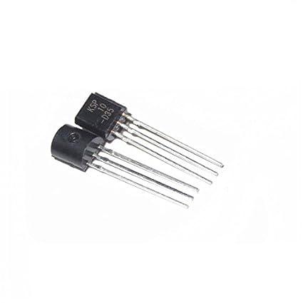 50PCS NPN Transistor KSP10 NPN 25V TO-92 Transistor KSP10