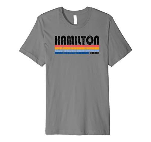 Vintage 70s 80s Style Hamilton, Ontario, Canada Premium ()